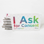 "Click here for more information about SP-19-06 - ""I Ask"" Coffee Sleeves (25 pack)"