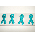 SP-05-02 - Awareness Ribbon Applique (2 sheets of 50)