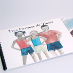 Click here for more information about ER-99-28 - Three Kind of Touches Book - Spanish Braille