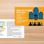 Click here for more information about SP-17-12 - Spanish Faith Leaders Postcard (sold in packs of 50) While Supplies Last.