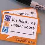 SP-13-03 - It's Time to Talk  Stickers - Spanish