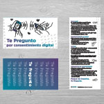 "Click here for more information about SP-19-15 - ""Te Pregunto por consentimiento digital"" Palm Card (50 pack)"