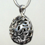 Click here for more information about CO-13-01 - Help, Hope, Heal Sterling Silver Necklace