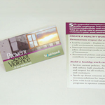 Click here for more information about SP-08-11 - Create a Healthy Workplace Palm Cards (per pack of 50)