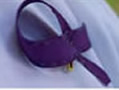 Awareness purple ribbons