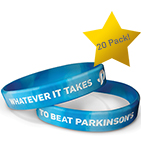 Click here for more information about Beat Parkinson's bracelets (20-pack)