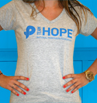 Click here for more information about Team Hope women's t-shirt