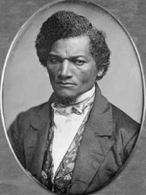 Daguerreotype of Frederick Douglass (1847-1852) by Samuel J. Miller. The Art Institute of Chicago