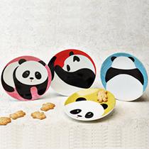 Panda plate set