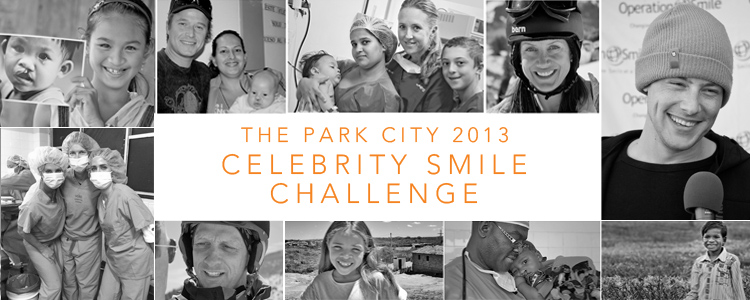 The Park City 2013 Celebrity Smile Challenge