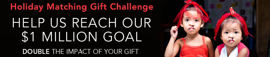 Holiday Matching Gift Challenge - Help us reach our $1 million goal