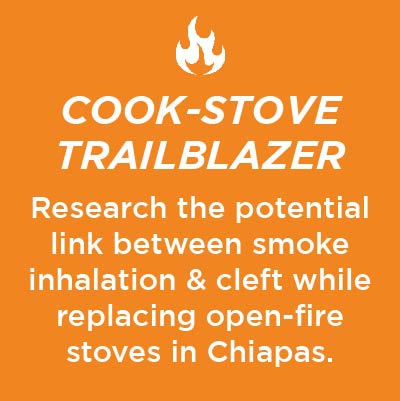 Graphic says click here to sign up for the cookstove project