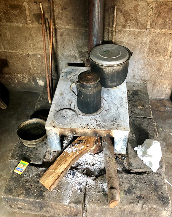 Cook stoves a possible solution?