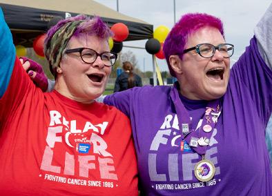 Vicki and Amy