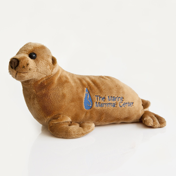 TMMC logo sea lion plush