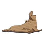 Click here for more information about Wood Elephant Seal Ornament