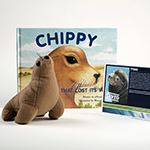 Click here for more information about Adopt-a-Seal® - Chippy Adoption Package, with Book and Plush