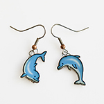 Click here for more information about Playful Dolphin Earrings