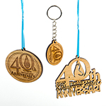 Click here for more information about 40th Anniversary Ornament / Key Chain