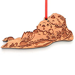 Click here for more information about Wood Sea Otter Ornament