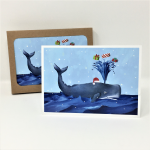 Click here for more information about Spouting Whale Holiday Cards