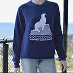 Sea Lion Crew Neck Sweatshirt