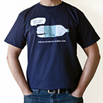 Click here for more information about ***SALE*** Whale Bottle T-shirt (100% Organic)