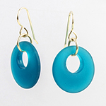 Click here for more information about Seaglass Earrings - 2 colors
