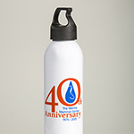 Click here for more information about 40th Anniversary Water Bottle