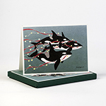 Click here for more information about Orca Holiday Cards