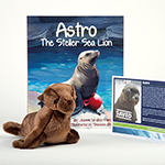 Click here for more information about Adopt-a-Seal® - Astro Adoption Package, with Book and Plush