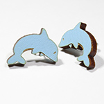 Click here for more information about Dolphin Earrings