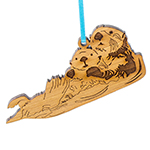 Click here for more information about Sea Otter Ornament