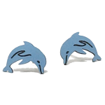 Click here for more information about Dolphin Post Earrings