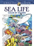 Click here for more information about Sea Life Color by Number Book
