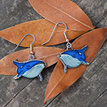 Click here for more information about Humpback Whale Earrings