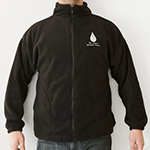 Click here for more information about Full Zip Fleece Jacket with Logo