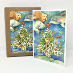 Click here for more information about Coral Sea Life  Holiday Cards