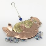 Click here for more information about Fair Trade Sea Otter with Baby Ornament