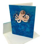 Click here for more information about Card with Octopus Pin