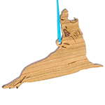 Elephant Seal Ornament