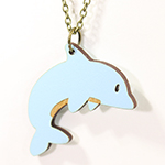 Click here for more information about Dolphin Necklace