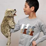 Click here for more information about Harbor Seal Puppet