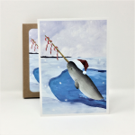 Narwhal Holiday Cards