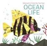 Click here for more information about Ocean Life Geometric Color by Number Book