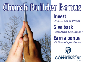 Cornerstone Fund Church Builder Bonus