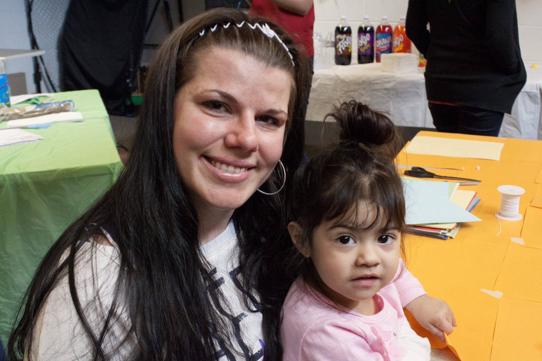 Incarcerated mother and child at Theodora House