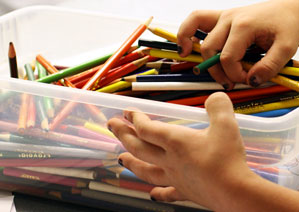 Art supplies for childcare (YWCA Kids Place)