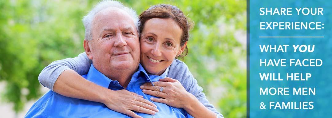 Take the patient and caregiver surveys