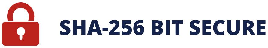 SHA-256 Bit Secure